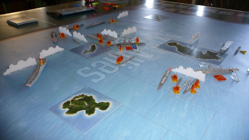 WWII Axis & Allies War at Sea Was410