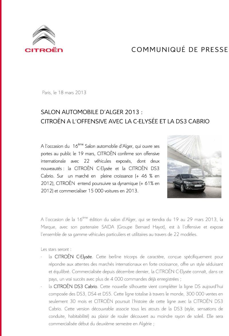 [INFORMATION] Citroën/DS Afrique et Moyen-Orient - Les news - Page 4 Citroe10