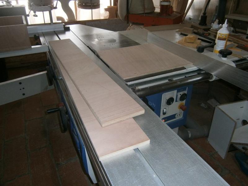 fabrication tiroirs en remplacement d'une étagère P3061410