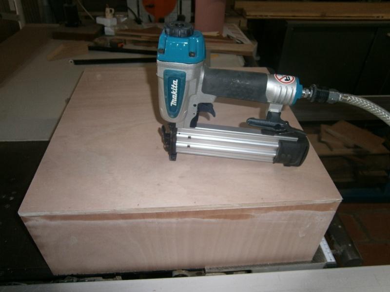 fabrication tiroirs en remplacement d'une étagère P3061412