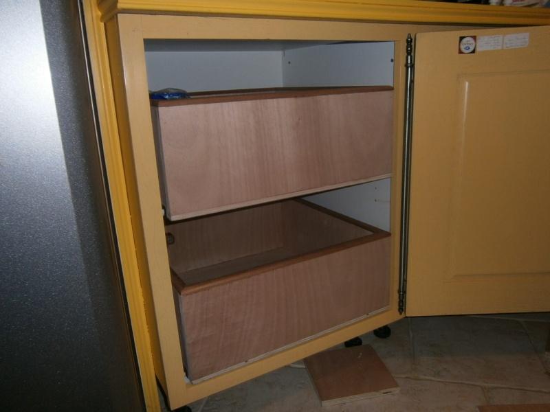 fabrication tiroirs en remplacement d'une étagère P3061416