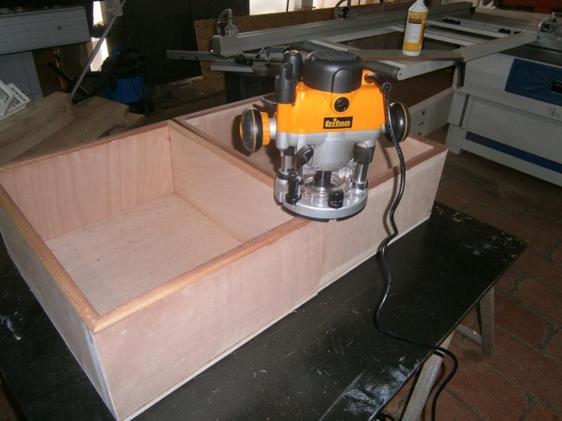 fabrication tiroirs en remplacement d'une étagère P3081412