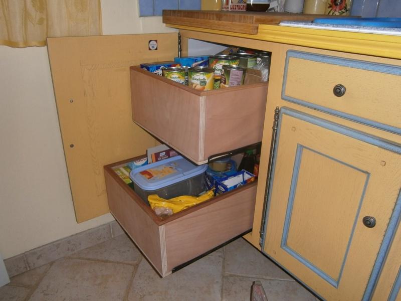 fabrication tiroirs en remplacement d'une étagère P3081415