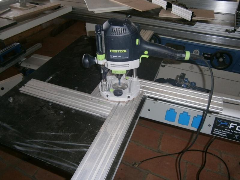 Table sans prétention pour défonceuse Triton MOF 001 1400W P3101511