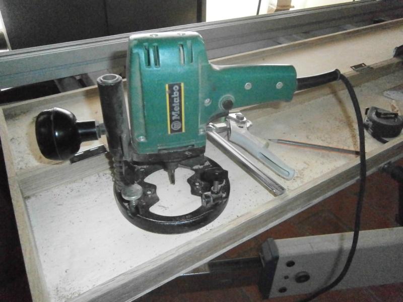 Fabrication coffrets de rangement pour accessoires Festool P3201513