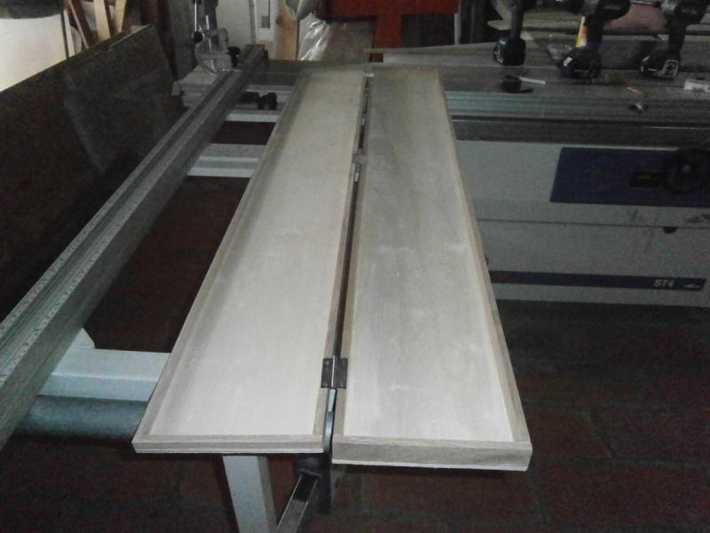 Fabrication coffrets de rangement pour accessoires Festool P3201514