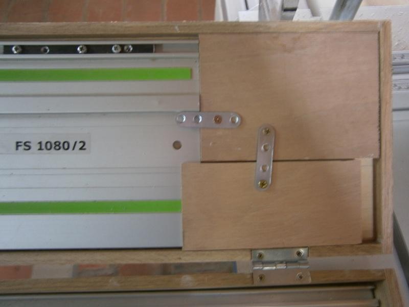 Fabrication coffrets de rangement pour accessoires Festool P3201517