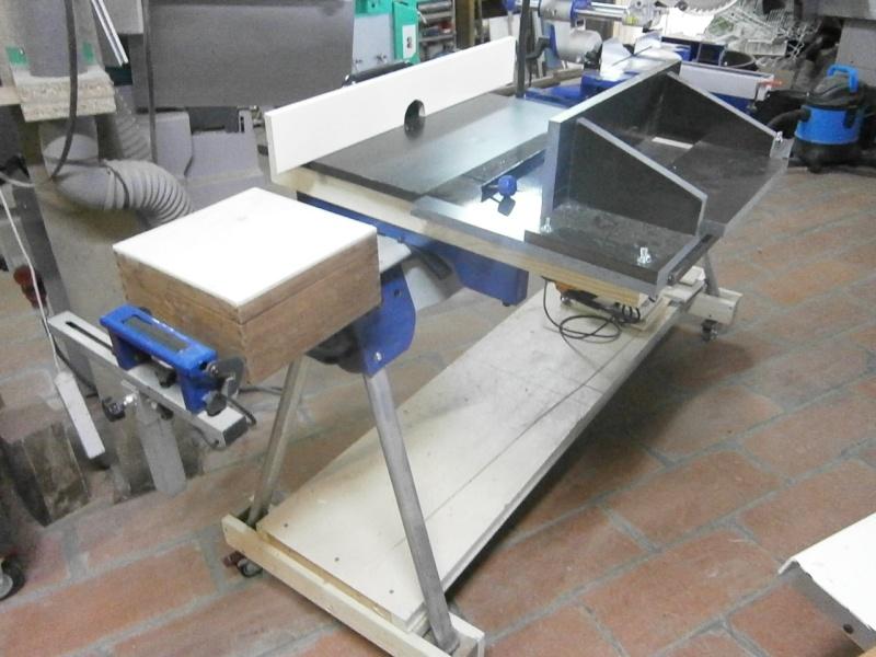 Table sans prétention pour défonceuse Triton MOF 001 1400W P3201528