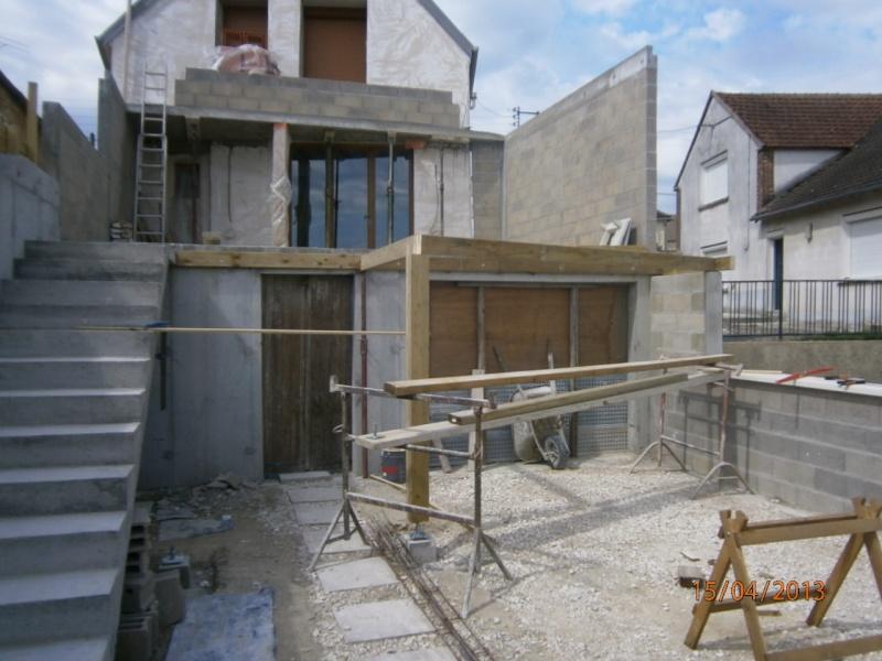 Terrasse en épicéa autoclave P4150014