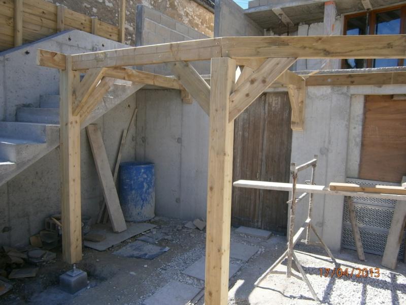 Terrasse en épicéa autoclave P4170012