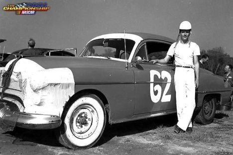 OLDS 1950 american stock car racing/REVELL TERMINEE!! Billre11