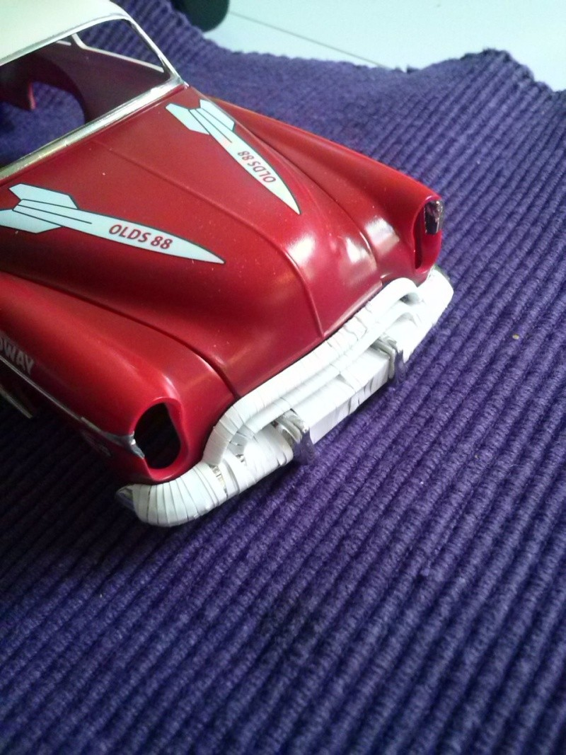 OLDS 1950 american stock car racing/REVELL TERMINEE!! Cam00720