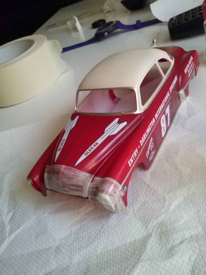OLDS 1950 american stock car racing/REVELL TERMINEE!! Cam00723