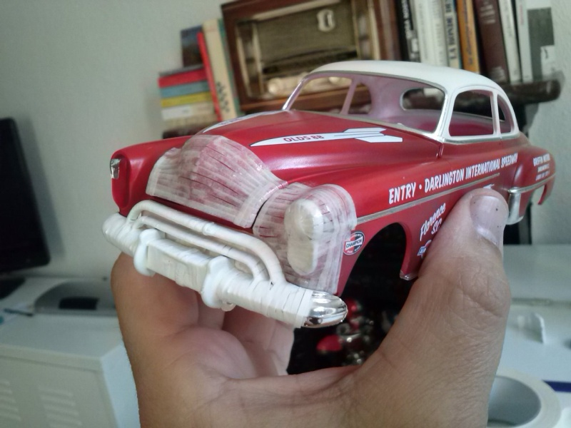 OLDS 1950 american stock car racing/REVELL TERMINEE!! Cam00724
