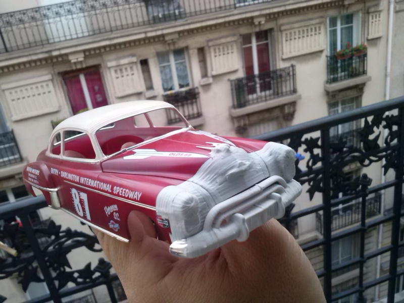 OLDS 1950 american stock car racing/REVELL TERMINEE!! Cam00727