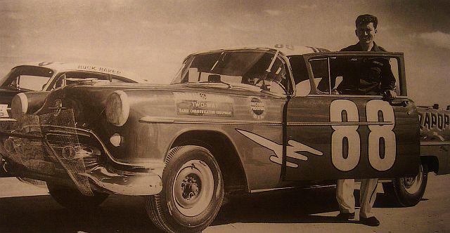 OLDS 1950 american stock car racing/REVELL TERMINEE!! Flock110