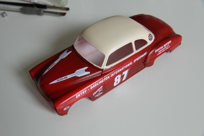 OLDS 1950 american stock car racing/REVELL TERMINEE!! Prague19