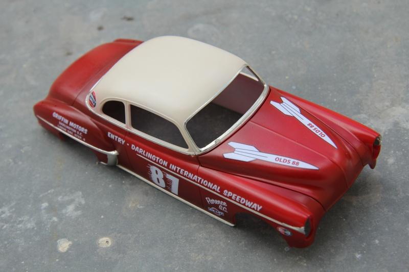 OLDS 1950 american stock car racing/REVELL TERMINEE!! Prague20