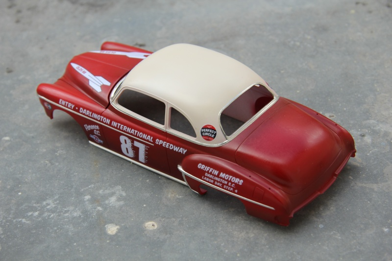 OLDS 1950 american stock car racing/REVELL TERMINEE!! Prague21