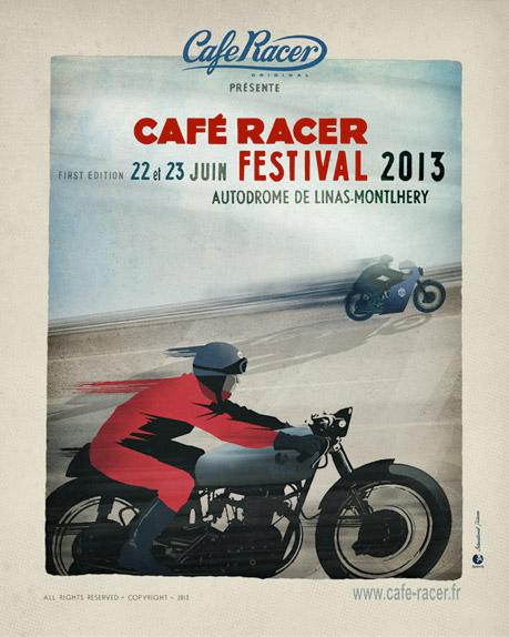 CAFE RACER FESTIVAL DE MONTLERY Affich10