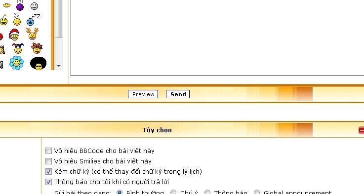 Vấn đề về Chat box và Chữ ký Chuky10