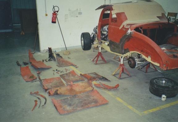 construction du coupé 39  1212