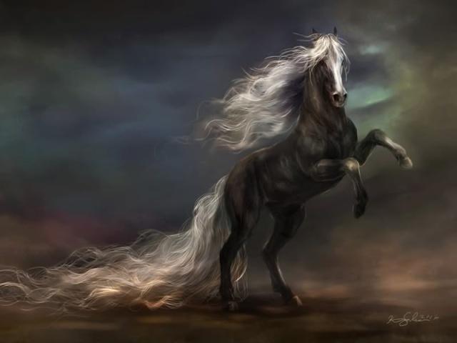 地 (Open) Horse-10