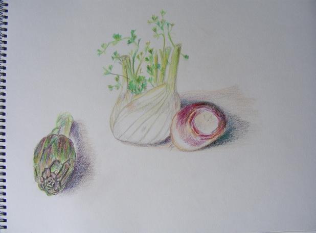 Fruits et légumes Dessin11
