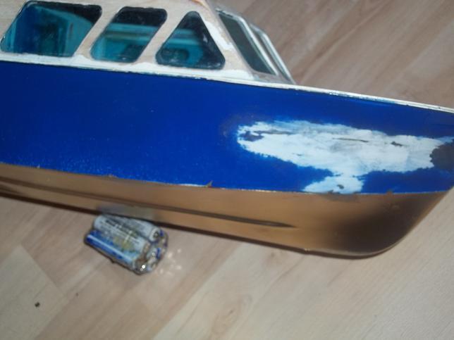 Graupner Kitty2 vom Wrack zum Sportboot.... - Seite 2 100_0212