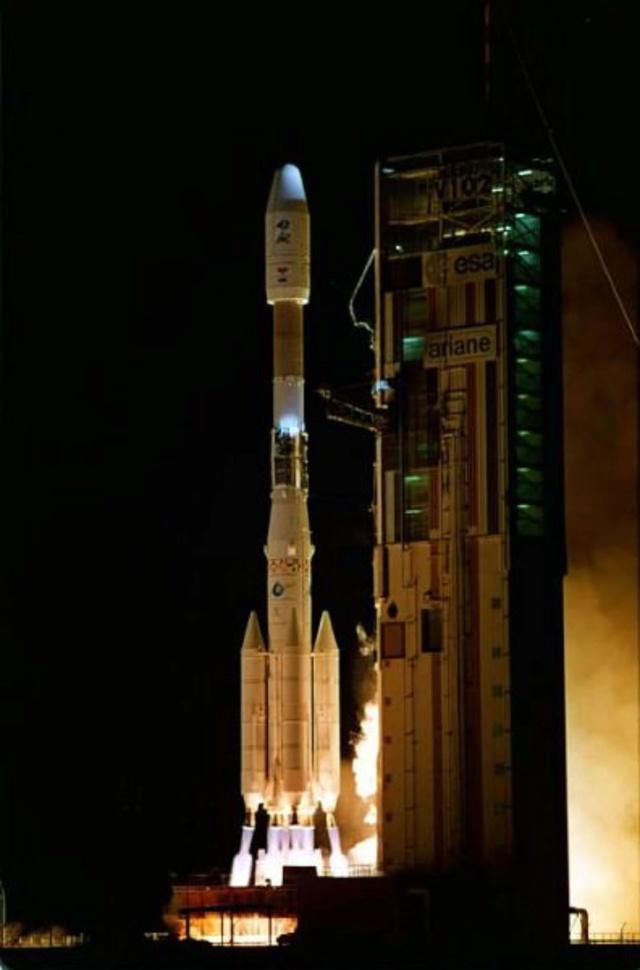 Photos des tirs d'Ariane avant la création du FCS Mayg11