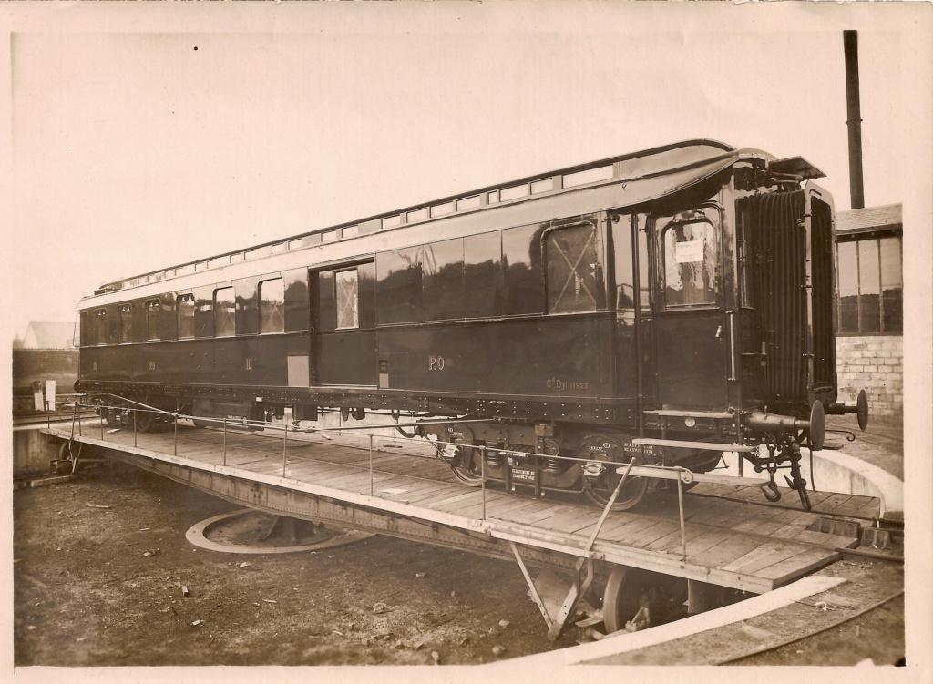voitures Midi puis SNCF d'origine Prusse Numzor11