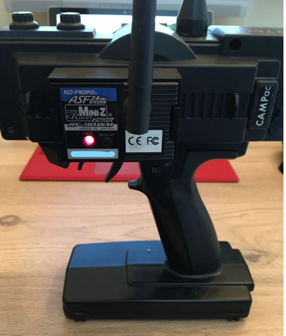 adaptateur pour plaque PN racing/module KO propo en impression 3D Captur15