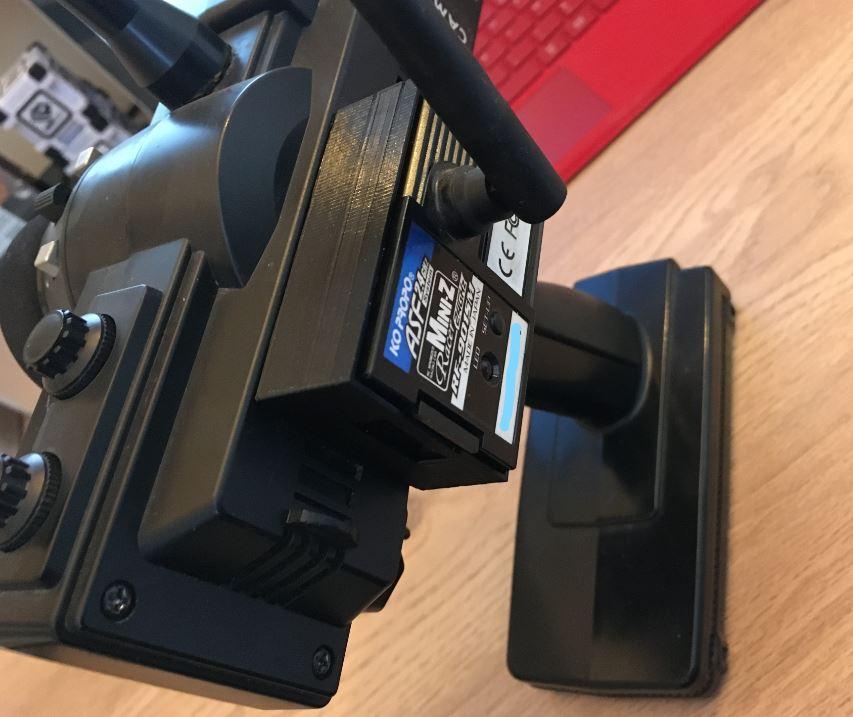 adaptateur pour plaque PN racing/module KO propo en impression 3D Captur16