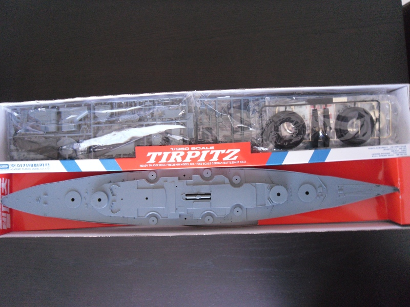 TIRPITZ 1/350 ACADEMY + pont bois + rembardes photodecoupe Presen24