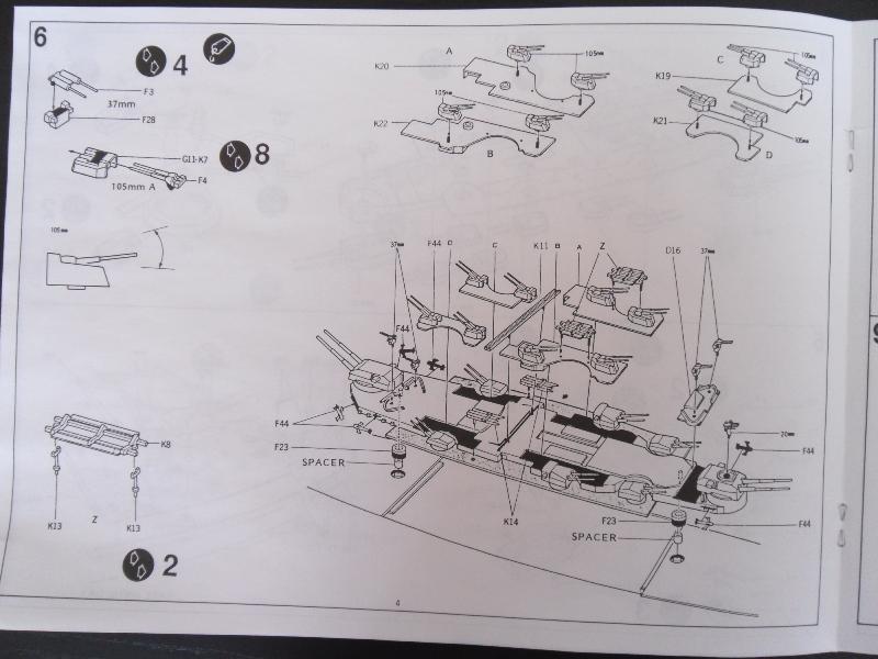 TIRPITZ 1/350 ACADEMY + pont bois + rembardes photodecoupe Presen30