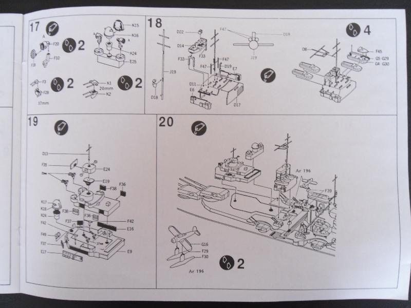TIRPITZ 1/350 ACADEMY + pont bois + rembardes photodecoupe Presen33