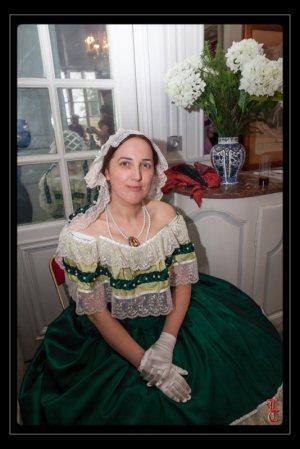 [Histo] Robe de Bal verte 14926011