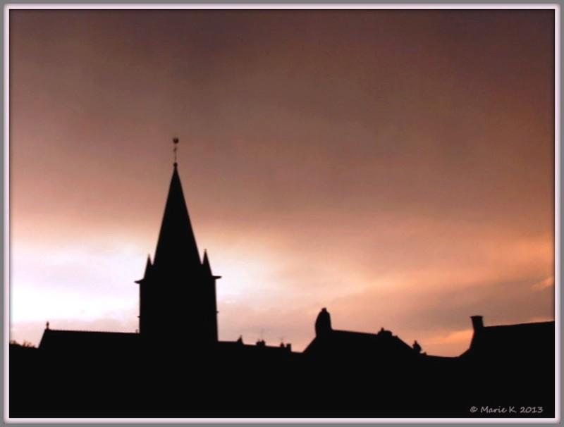 Lueurs du coucher de soleil   P8050710