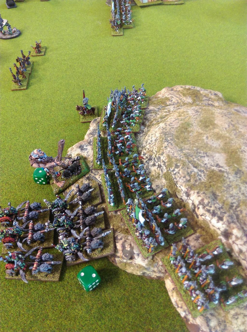 Partie de Warmaster Peaux Vertes contre du Nain et Empire Imag1522