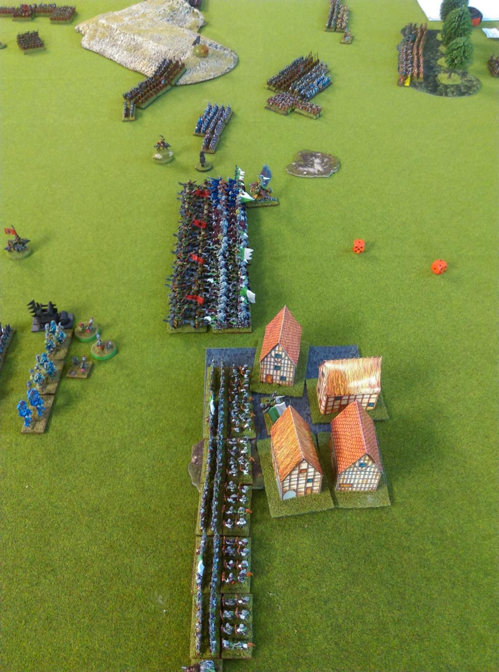 Partie de Warmaster Peaux Vertes contre du Nain et Empire Imag1523