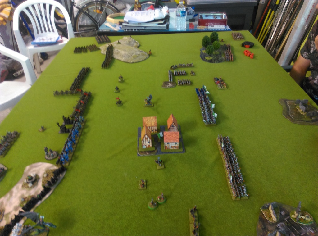 Partie de Warmaster Peaux Vertes contre du Nain et Empire Imag1524