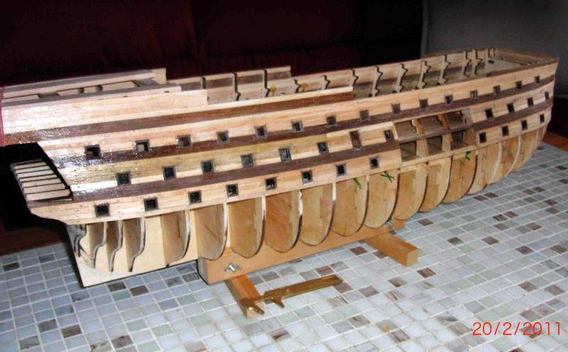 Huberts Baubericht Victory aus Holz Victor11