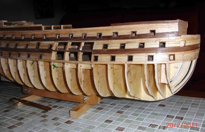 Huberts Baubericht Victory aus Holz Victor12