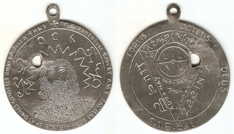 Buying: Philippine Silver Amulet Coin...---- embosed Platin11