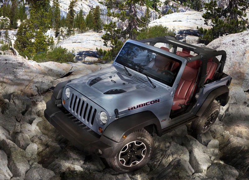 Jeep® Wrangler Rubicon 10th Anniversary Edition. 210