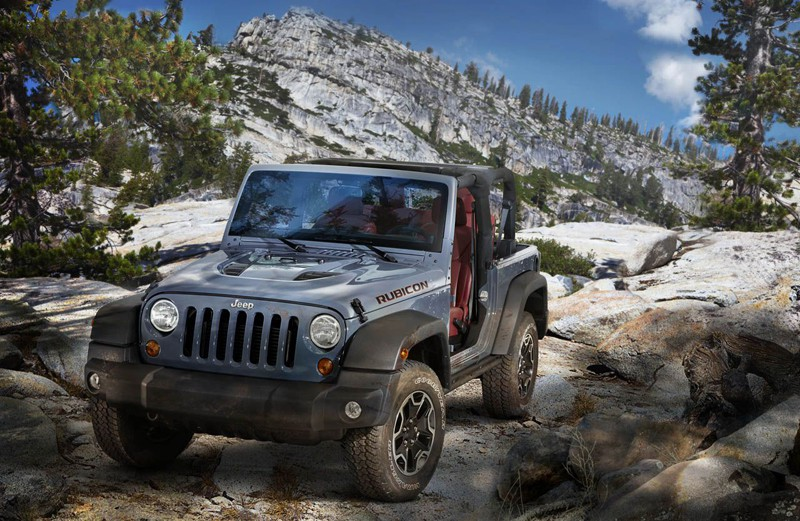 Jeep® Wrangler Rubicon 10th Anniversary Edition. 310