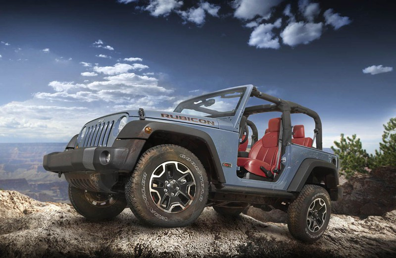 Jeep® Wrangler Rubicon 10th Anniversary Edition. 410