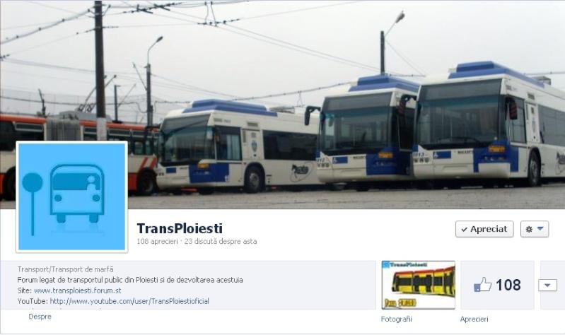 Pagina de facebook a forumului Pagpri10