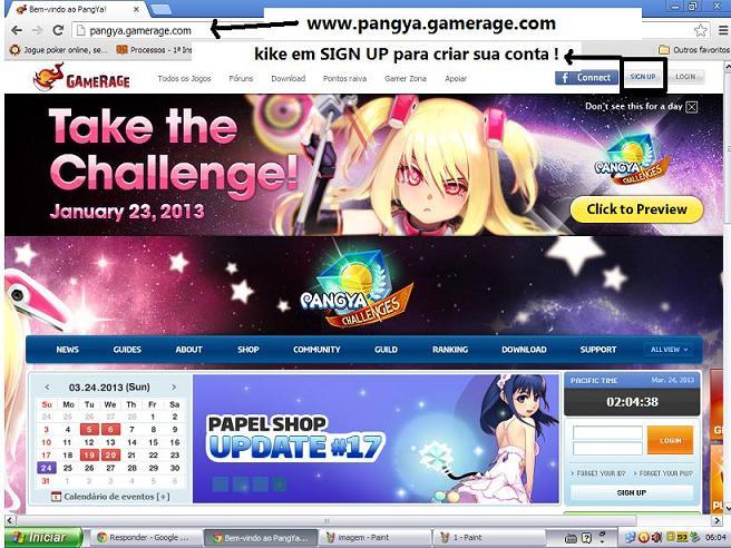 2 - Site e Download do Jogo 311
