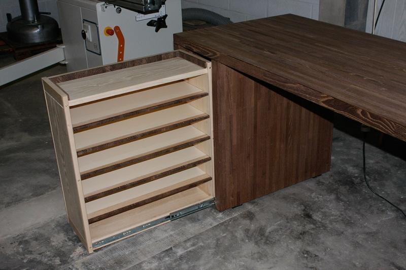 [Fabrication] Un bureau contemporain et simple…  - Page 6 Bureau11